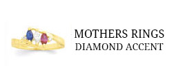Mothers Rings - Diamond Accent